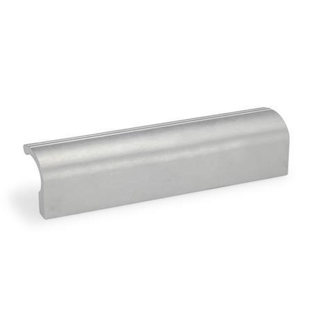 GN 730 Ledge handles, Aluminum Finish: BL - blank