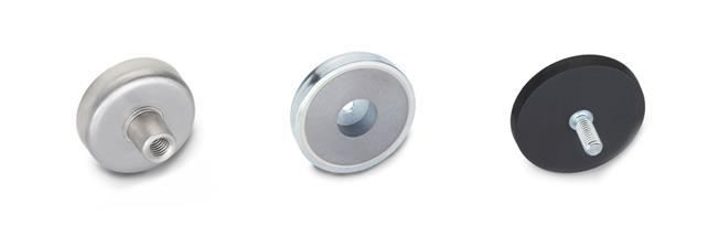 Aimants de retenue en forme de disque