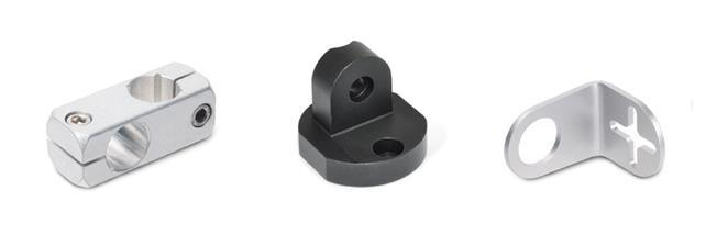 Clamp mountings (Aluminium)