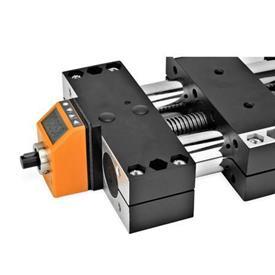 GN 491.1 Montage-Sets für Stellungsanzeiger an Doppelrohr-Lineareinheiten GN 491 / GN 492 Kennziffer: 2 - für elektronische Stellungsanzeiger GN 9053 / GN 9054