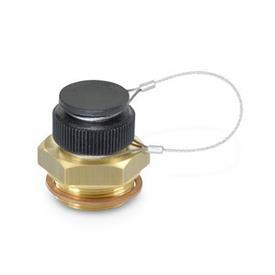GN 880 Oil drain valves Material: MS - Brass