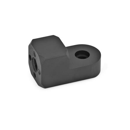 GN 484 Attachment clamp mountings Finish: ELS - anodized black