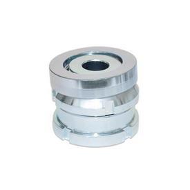 GN 350.2 Ausgleich-Elemente mit Kugelscheibe, Stahl Werkstoff: ST - Stahl