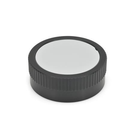 GN 736.1 Säätöpyörät, asteikon tilausmahdollisuudella Tyyppi: A - ilman kahvaa