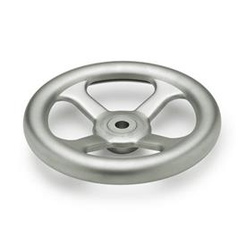 GN 227.2 Handwheels, pressed Stainless Steel, AISI 304 (A2) Bore code: B - without keyway<br />Type: A - without handle