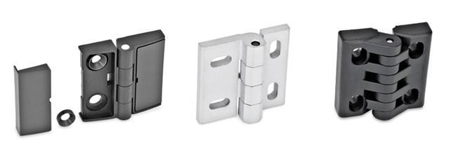 Hinges, adjustable