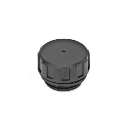 GN 548.1 Einfülldeckel, Kunststoff Form: A - ohne Ölmessstab