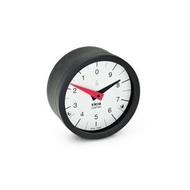 GN 000.8 Position indicators, Pendulum system, analog indication Type: L - Numbers ascending anti-clockwise