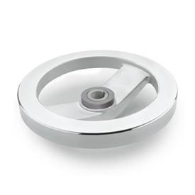GN 322.4 Safety handwheels with friction bearing Type: A - without handle