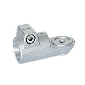 GN 276 Laschen-Klemmverbinder, Aluminium Form: MZ - mit Zentrieransatz<br />Oberfläche: BL - blank, matt gestrahlt