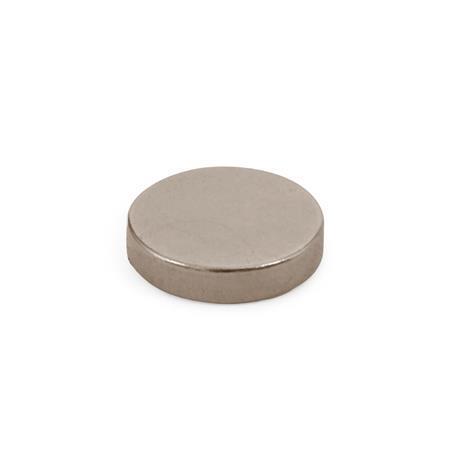 GN 55.2 Aimants plats Matériau de l'aimant: SC - SmCo