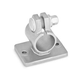 GN 146.6 Stainless Steel-Flanged connector clamps Type: B - with sealing