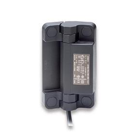 GN 239.6 Charnières avec contacteur de sécurité, plastique + câble Type: BK - Câble en bas