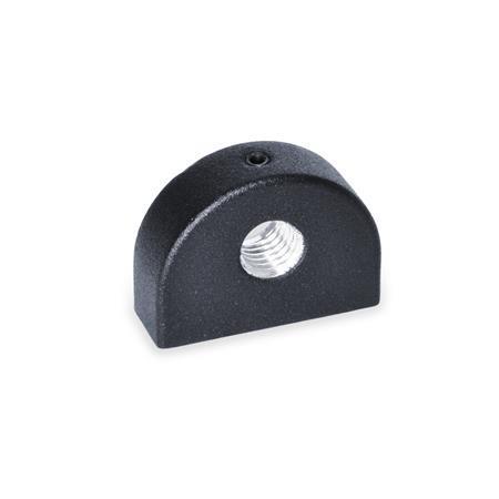 GN 412.1 Haltestücke, Zink-Druckguss Kennziffer: 2 - Montage von hinten