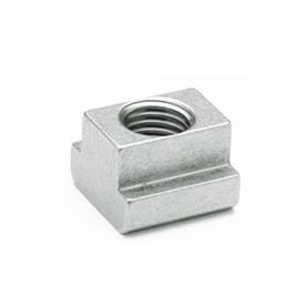 DIN 508 T-Nuts, Stainless Steel