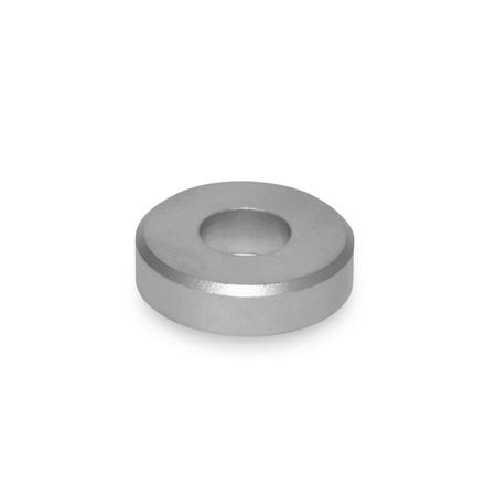 GN 6341 Washers, Stainless Steel Type: A - with cylindrical bore