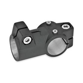 GN 192.1 Verfahrschlitten für Lineareinheiten, Aluminium Bohrung d<sub>1</sub>: B 50