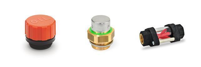 Bouchons d'huile à échappement, avec filtre/Bouchons d'huile à échappement avec valve