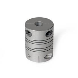 GN 2246 Stainless Steel Beam Couplings with Clamping Hub
