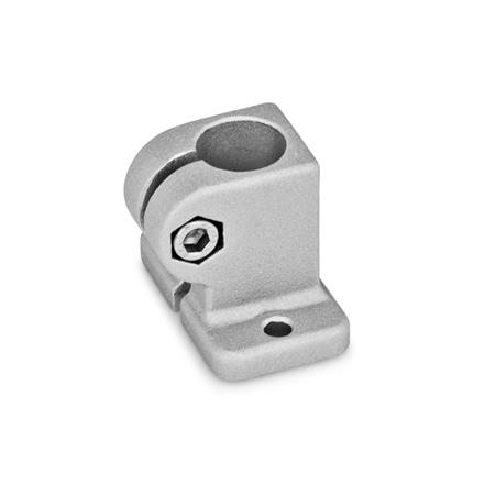 GN 162.3 Base plate connector clamps, Aluminum Finish: BL - blank