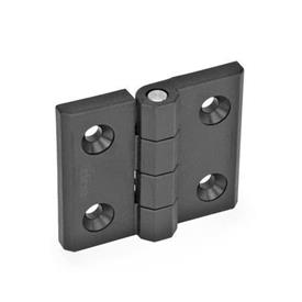 GN 239.3 Hinges without switch, Plastic