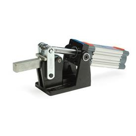 GN 861 Toggle clamps, pneumatic, heavy duty, with magnetic piston