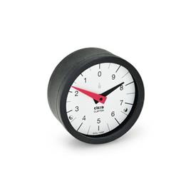 GN 000.9 Position Indicators, Retaining System, Analog Indication Type: L - Numbers ascending anti-clockwise