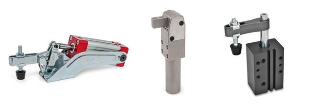 Pneumatically Operated Clamps