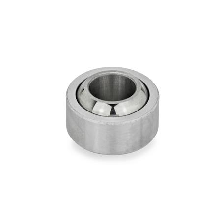 GN 648.8 Ball joints Type: W - Steel-PTFE / Steel, self lubricated