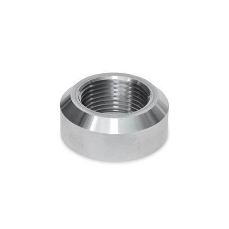 GN 7490 Schweißmuffen mit und ohne Bund Werkstoff: ST - Stahl Form: A - mit Fase