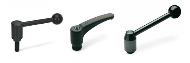 Safety hand levers, tension levers