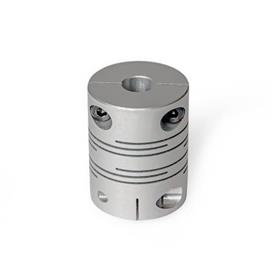 GN 2246 Beam couplings with clamping hub