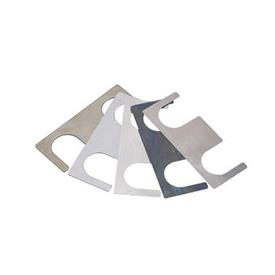 GN 871 Shim kit accessories for jaw blocks