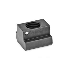 GN 508.2 T-Nuts with slip proof Tensile strength: 10 - blackened
