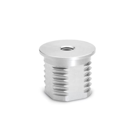 GN 992.5 Stainless Steel-Insert bushings Outside-Ø: D - for tube, round