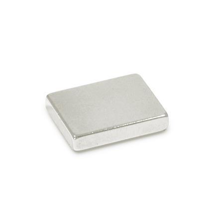 GN 55.4 Rohmagnete Werkstoff: ND - NdFeB