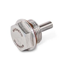 GN 738.5 Stainless Steel Magnetic Plugs