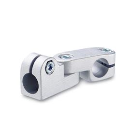 GN 287 Swivel clamp connector joints, Aluminium