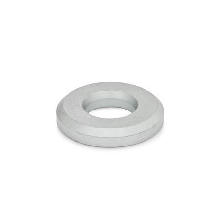 GN 6339 Hochfeste Unterlegscheiben, hohe Form Oberfläche: GO - GEOMET 500-behandelt