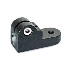GN 275 Laschen-Klemmverbinder, Aluminium Oberfläche: SW - schwarz, RAL 9005, strukturmatt