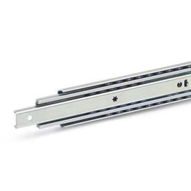 GN 1420 Telescopic slides with full extension, load capacity up to 1290 N