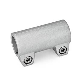 GN 242 Tube connector joints, Aluminium Finish: BL - blank<br />Identification No.: 2 - with 2 Stainless Steel-clamping screws DIN 912