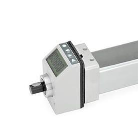 GN 296 Montage-Sets für Stellungsanzeiger Kennziffer: 2 - für elektronische Stellungsanzeiger GN 9053 / GN 9054