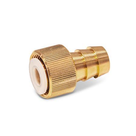 GN 880.1 Anschlussstücke, für Ölablassventile GN 880 Form: A - Anschluss gerade
