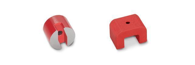 Knopfmagnete, U-Magnete