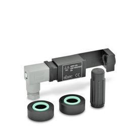 GN 654.2 Montagesets zur elektrischen Ölstandsüberwachung Form: NC - 1 Schalteinheit mit einem  Öffnerkontakt