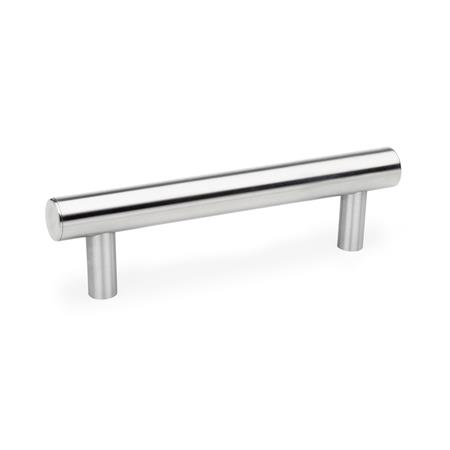 GN 666.5 Stainless Steel-Tubular handles Type: E - with Stainless Steel cover cap