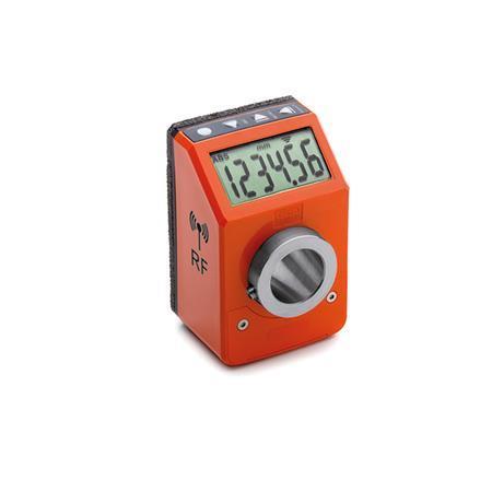 GN 9153 Stellungsanzeiger, elektronisch, mit Funk-Datenübertragung Farbe: OR - orange, RAL 2004