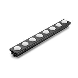 GN 646.2 Ball track for for ball rail assemblies