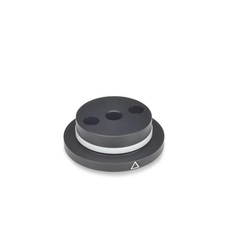 GN 723.3 Reference Flanges for GN 723.4 Type: A - With friction ring